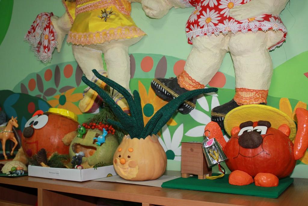 Осенние поделки в детский сад из тыквы 24